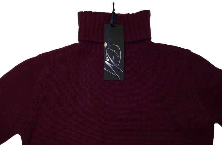 Enzo mantovani womens cashmere turtle neck sweater nwt for Enzo mantovani