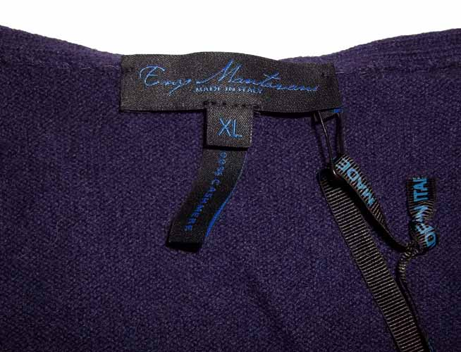 Enzo mantovani womens cashmere tunic nwt ebay for Enzo mantovani