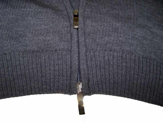 Enzo mantovani mens extra fine merino wool full zip for Enzo mantovani