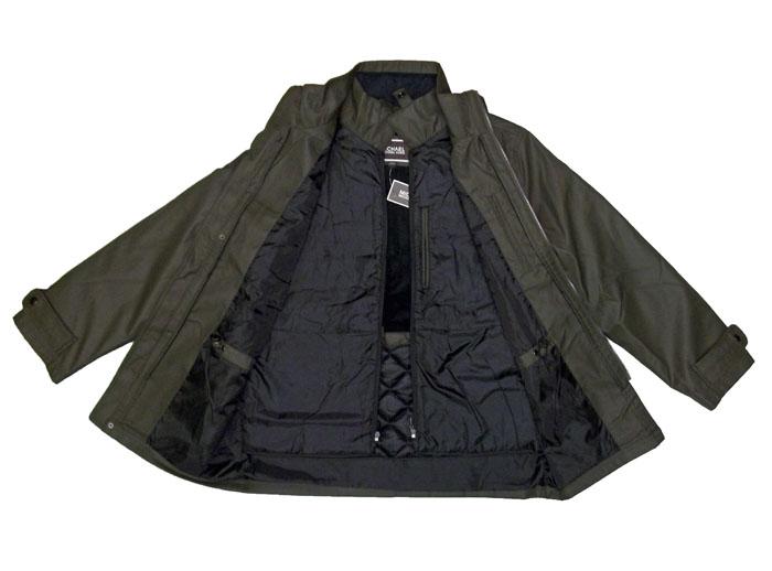 michael kors mens full zip winter jacket w removable lining olive ebay. Black Bedroom Furniture Sets. Home Design Ideas