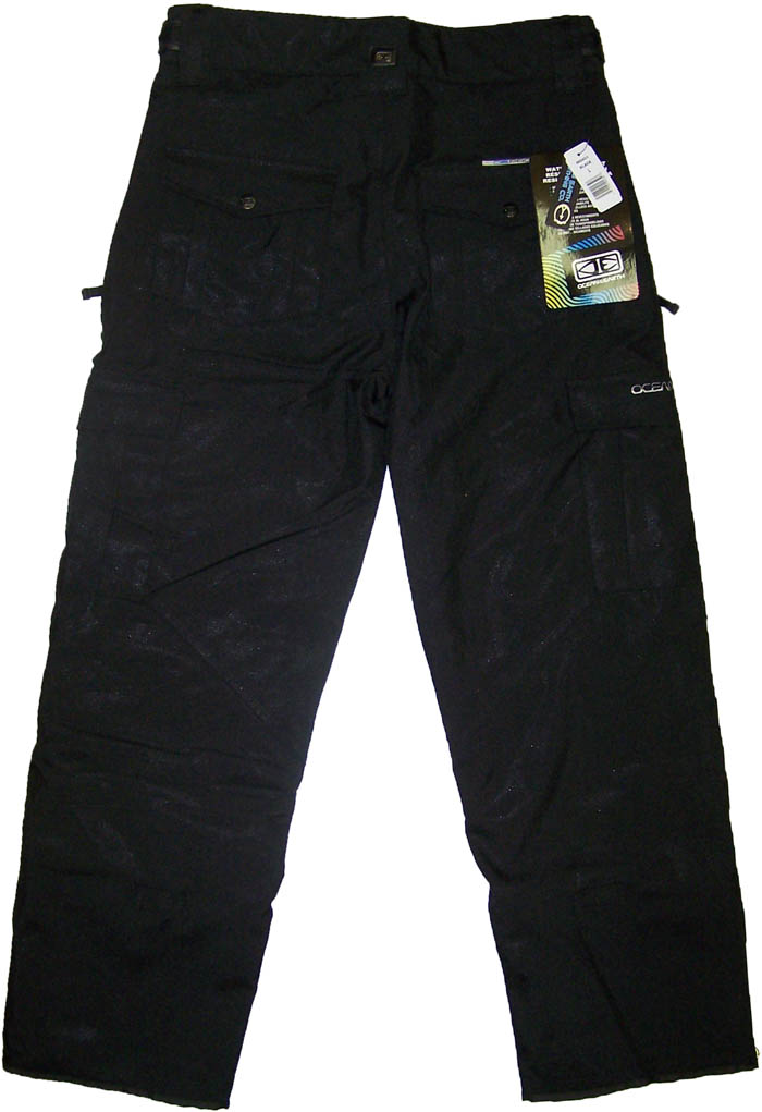 Ocean Earth Mens Pro Ski Snowboard Snow Pants Black Nwt Ebay